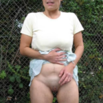 Photo femme exhibitionniste